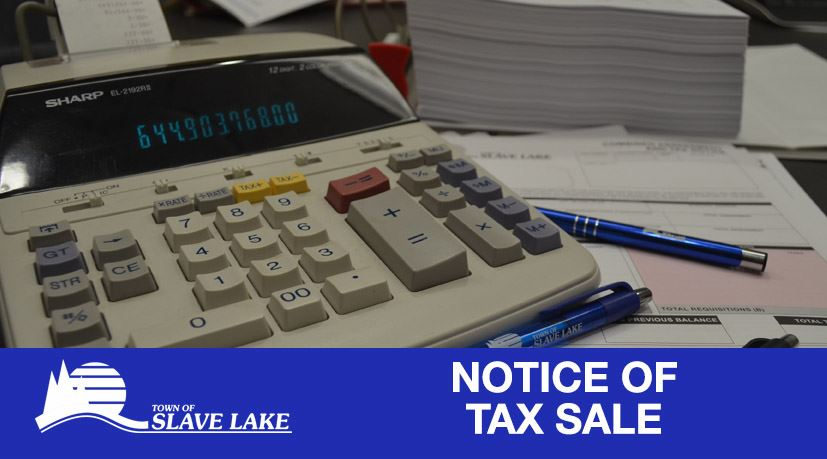 Taxes - Notice of Tax Sale