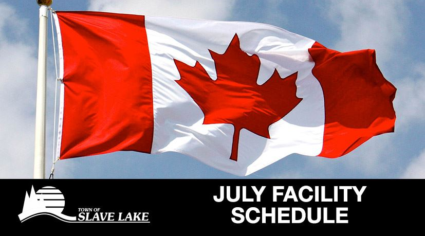 Facility Schedule - July