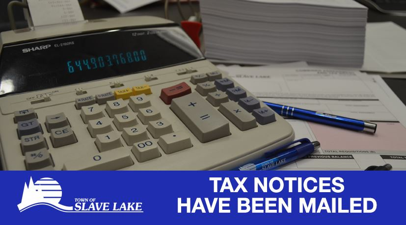 Tax Notices have been Mailed
