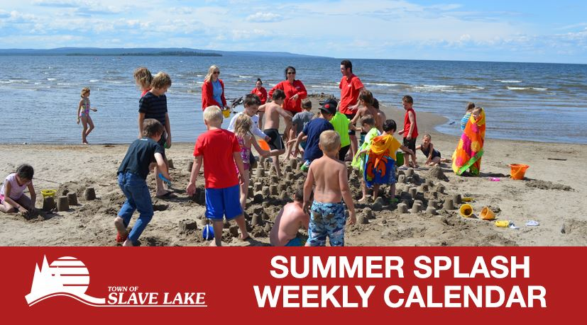 summer splash weekly calendar