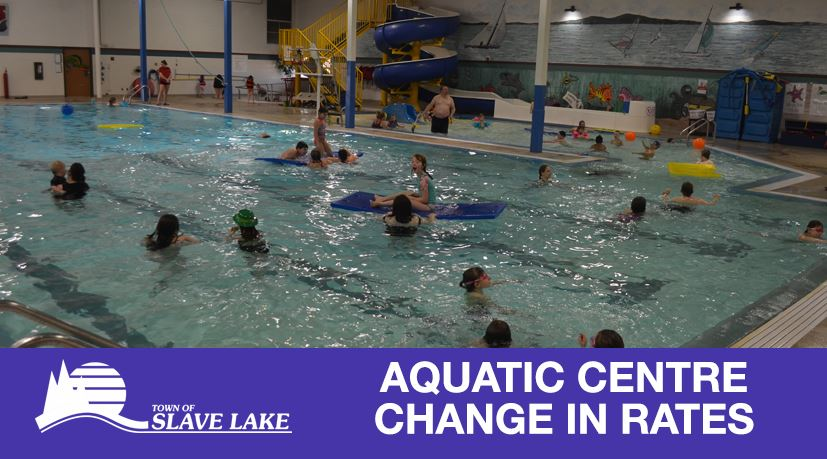 Aquatic Centre Change in Rates