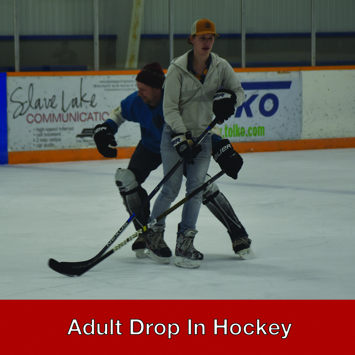 Adult Drop In Hockey