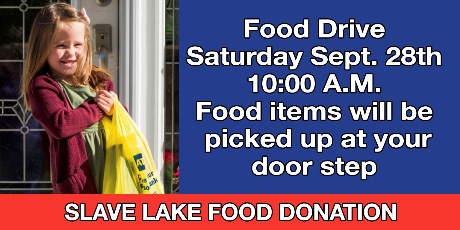 Food Drive - September 24th