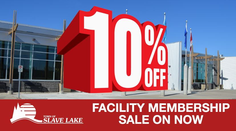 FACILITY MEMBERSHIP SALE ON NOW