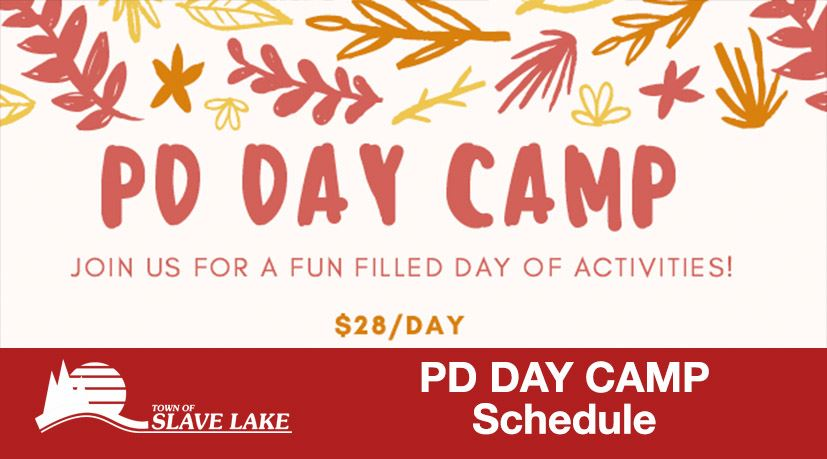 PD Day camp Schedule