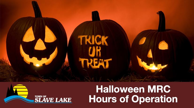 MRC Hours of Operation Halloween