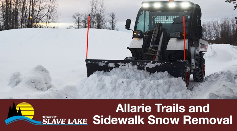 Allaire Trails and Sidewalk Snow Removal