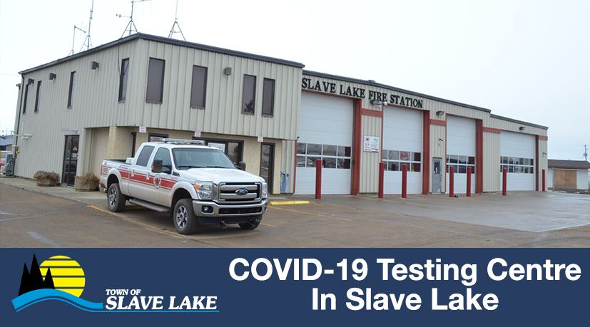 COVID19 Testing Centre in Slave Lake