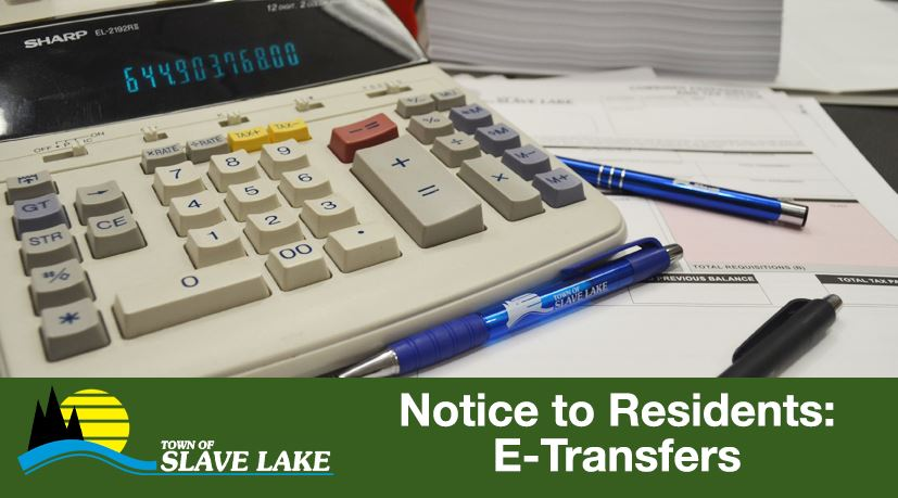 Notice to Residents E Transfers