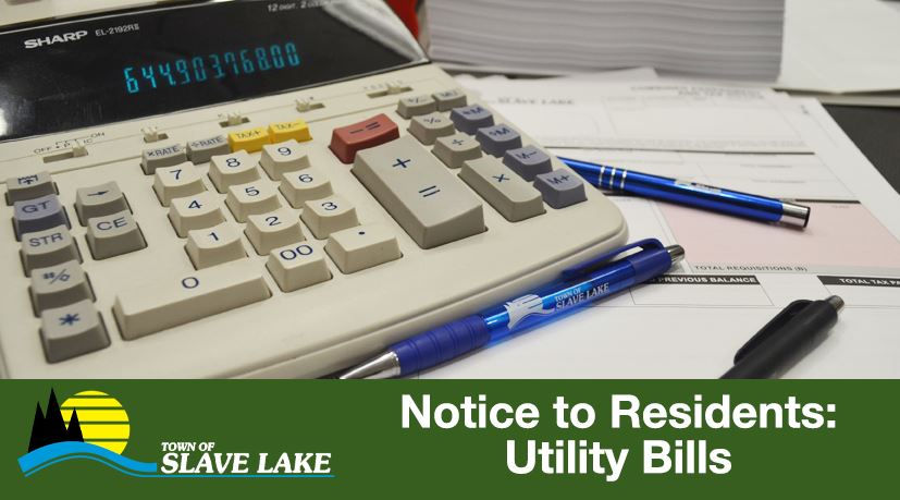 Notice to Residents - Utility Bills
