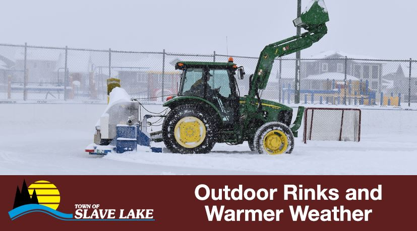 Outdoor Rinks and Warmer Weather