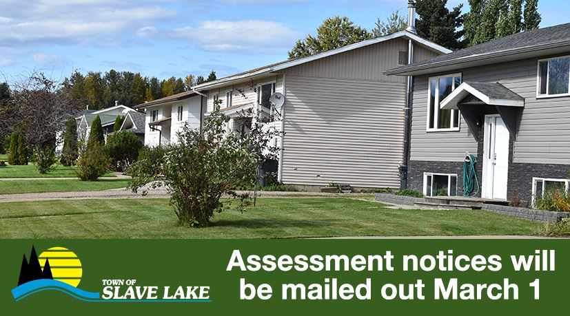 Assessment notices will be mailed out March 1