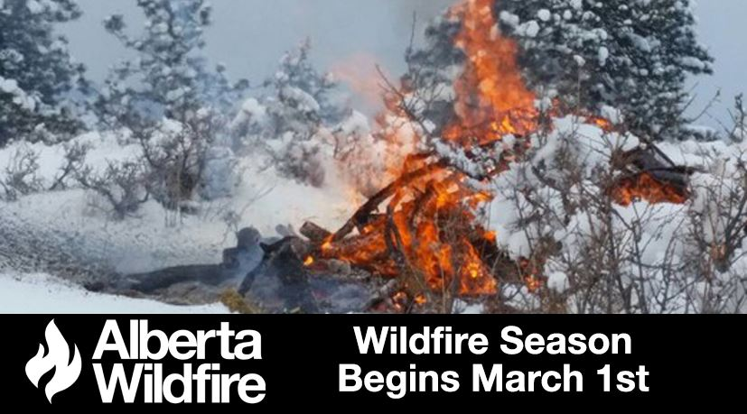 Wildfire Season Begins March 1st