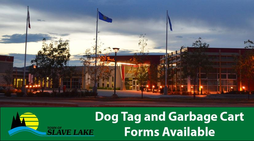 dog tag and garbage cart forms