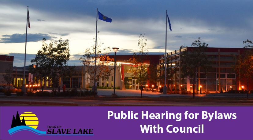 public hearing for bylaws with council