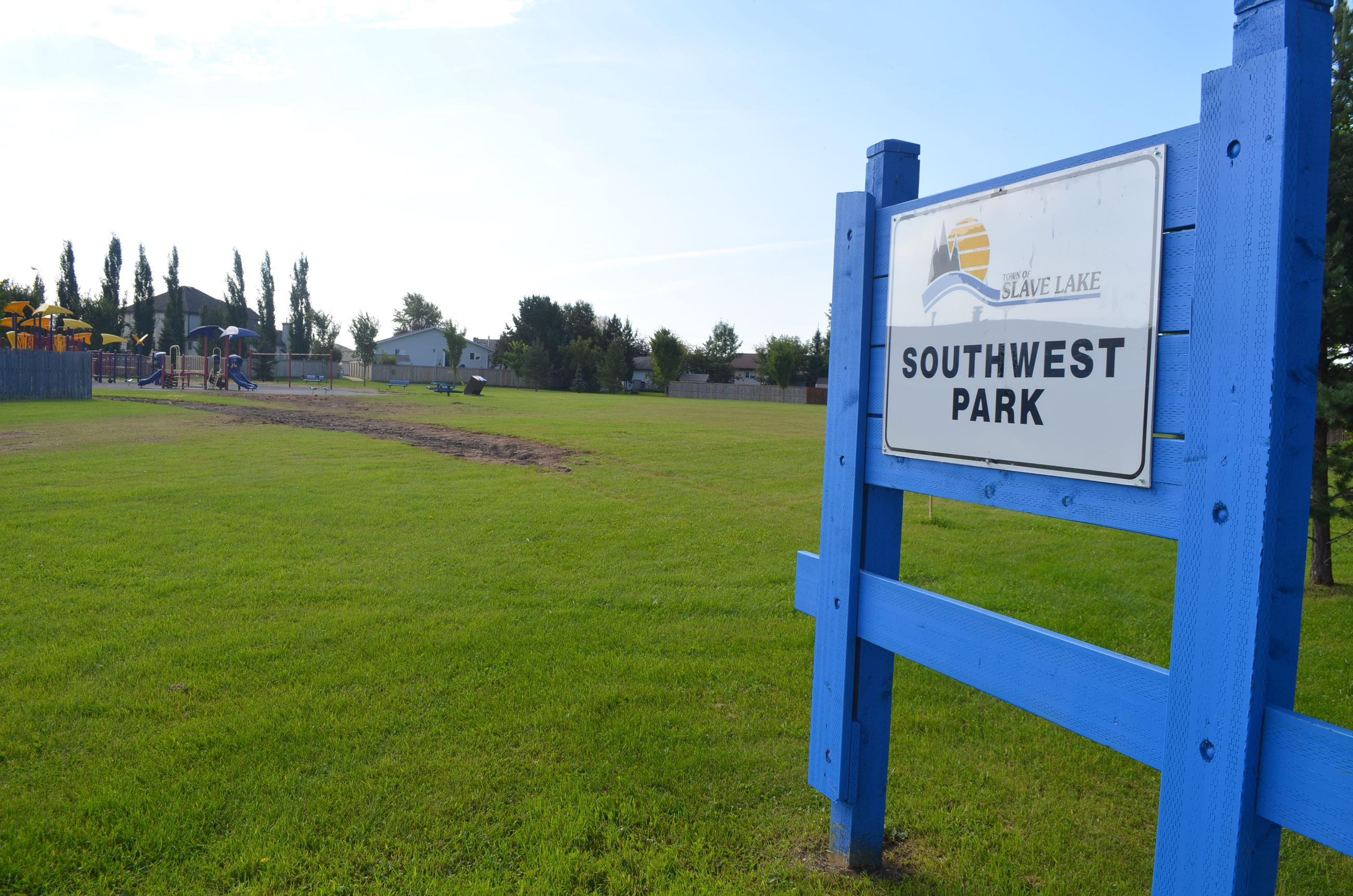South West Park - Sign