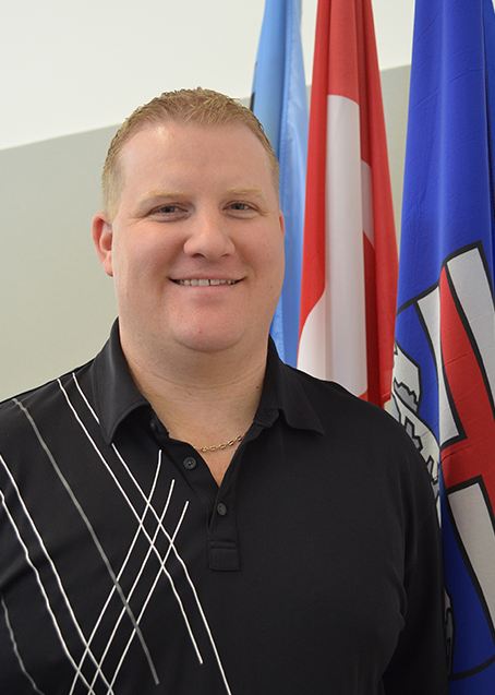 Mayor Tyler Warman